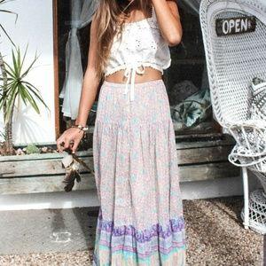 EUC Spell Xanadu maxi skirt